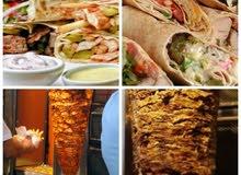 مطعم للبيع او الضمان تحت التجهيز شاورما وسناكات