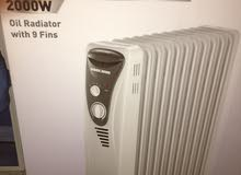 صوبة كهربائية زيتية black and decker oil filled radiator