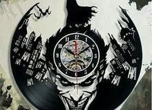 Limited edition vinyl Clock