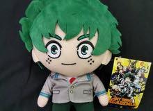 my hero academia izuku midoriya anime plush toy