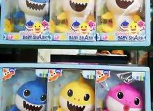 للبيع لعبة baby shark ب 3 دينار فقط