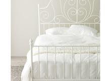 سرير ابيض معدن من ايكيا