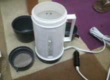 سخان ( كتل ) لتسخين الماء للشاي والقهوه علي ولاعه السياره ( 12فولت )