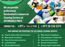 CLEANERS/HOUSE MAIDS ONLY ON 25 AED AT RAS AL KHAIMAH...