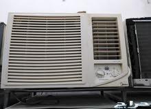 مكيفات شباك مستعمل نظيف مع توصيل أو تركيب للبيع مع الضمان شهرين 0580436383