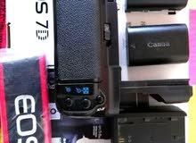 كاميرا كانون بدّي فقط 7D