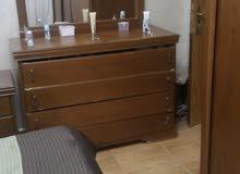 غرفة نوم بحاله ممتازة شبه جديده للبيع