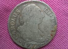 نقود إسبانية 1788 و 1778