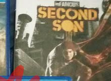 infamous second son,,,,, slightly negotiable