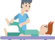 جلسات علاج طبيعي لجميع الحالات