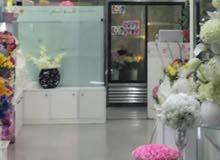 محل زهور راقي ومعروف للبيع