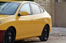Yellow Hyundai Elantra 2008 for sale