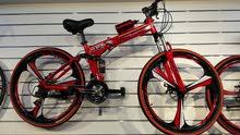 دراجه هوائية رياضية مقاس 26 قابلة لطي بها هيدروليك وجامبينات ورنجات المونيوم