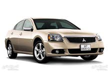Mitsubishi Galant 2013 For Rent - Brown color