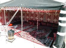 بيوت شعر وخيام خيم مع كافة مستلزماتها
