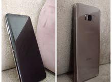 سامسونج 8s+ مستعمل مع حماية للشاشة الأمامية و الشاشة الخلفية بسعر جيد+Samsung s8