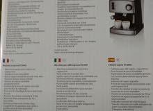 للبيع ماكينة عمل قهوة الاسبرسو وكب تشانو ومكياته وكريمة حليب Es 3643