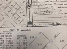 أرض للبيع ظفار ولاية طاقة قبل دوار ناشب يمين