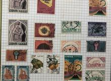 طوابع نادرة يوجد حوالي اكثر من 500 طابع