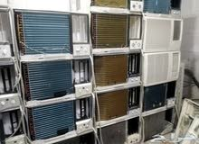 نبيع مكيفات مستعمله للبيع شباك واسبلت مضمونه لتواصل اوتس 0561412416يوجدتوصيل