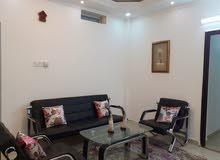 Furnished apartment شقة مفروشة حي الصفا شارع عبيد ختم شرق المطار بها مولد