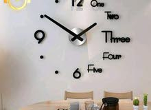 ساعات. حائط. ثري دي لتزيد اناقت بيتك