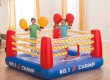 نطاطية حلبة ملاكمة للأطفال