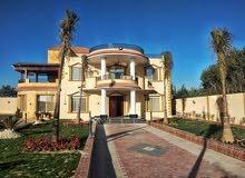 فرصة للبيع قصر في الريف الاوروبي تشطيب الترا سوبر لوكس بالفرش والأجهزة الكهربائي