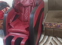 للبيع كرسي مساج جديد مستخدم مرى واحده