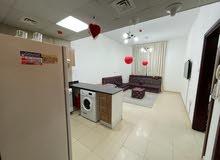 لايجار الشهري شقة غرفة وصالة ابراج السيتي تاور نظيفة جدا