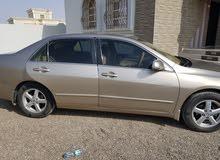 سيارة هوندا أكورد للبيع قطع غيار