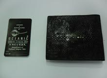 Oceanic Genuine Stingray Skin Wallet