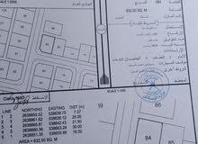أرض للبيع في ولاية السويق منطقة حلة الجود