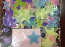 نجوم تزين غرف النوم