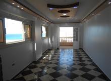 شقة 110م تاني نمرة من البحر مسجلة في شاطئ النخيل الاسكندرية