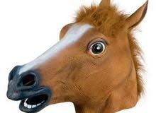 قناع الحصان النادر جدا !!