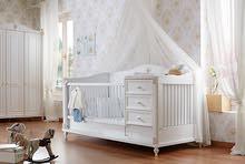 """غرف نوم بيبي """" اطفال حديثى ولادة """" مميزه مناسبة حتى عمر 12 سنة"""