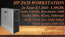 HP Z620 CACHE 20MB 16Threads E5-2643