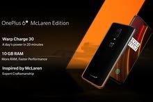 Oneplus 6t McLaren ون بلس 6 تي ماكلارين (نسخة خاصة) في حالة الجديد