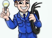 كهربجي للتمديدات والصيانة الكهربائية