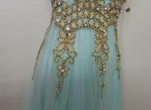 فستان سهره مستخدم يوم واحد ينفع اخت العريس او اخت العروس