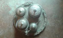 صينية الفضة الحرة قديمة عندها أكثر من 85سنة