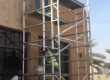 شركة مقاولات ( بناء ملاحق وشبرات + صيانة بيوت + اصباغ + سراميك + باسكو )حسب الطلب
