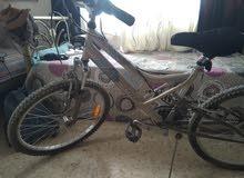 دراجه هوائيه حجم 24 زي الجديده من السعوديه