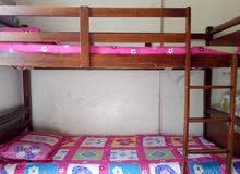 """مطلوب ... سرير طابقيين """" خشب ماليزي """""""