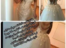 فستان عروس لون اوفوايت لبسه وحده