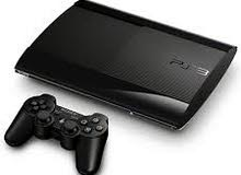 جهاز ps3 super slim red احمر اللون