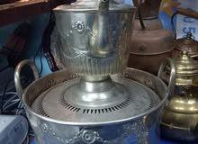 طاس مغربي أصيل من الفضة الخالصة يعد من بين التحف الجميلة ..