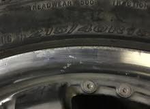 رنقات RS5 اللون دخاني قياس 18