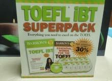 TOEFL IBT SUPERPACK BOOK